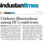 HINDUSTAN TIMES- INDIAN YOUTH AND IDIOL AWARD -2013